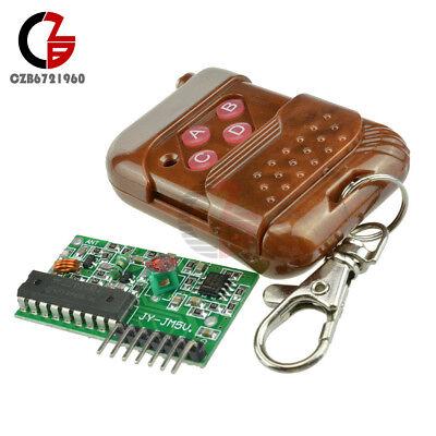 4ch Ic 22622272 Key 315mhz Wireless Remote Control Receiver Module Arduino
