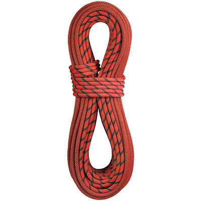 Dry Dynamic Climbing Rope (BlueWater Ropes Dynamic Rock Climbing Rope 9.9mm x 60M Dry Pulse - Bi-Pattern )
