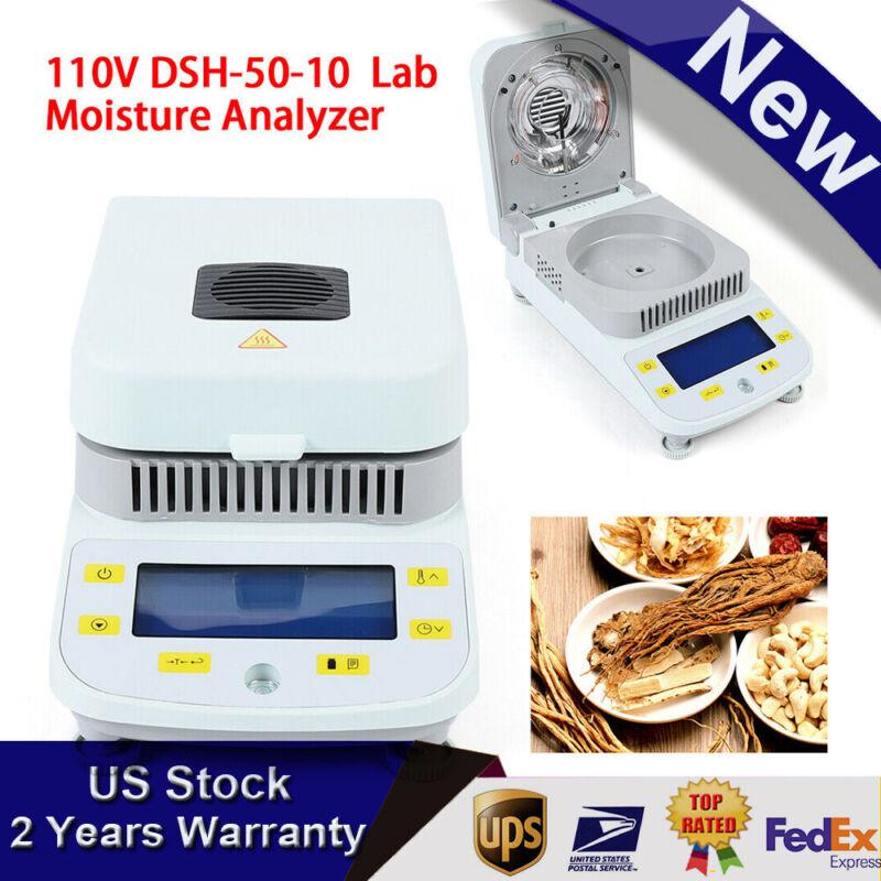 Capacity Halogen Heating Lab Moisture Analyzer/Tester 110V 50-180 Degree US Plug