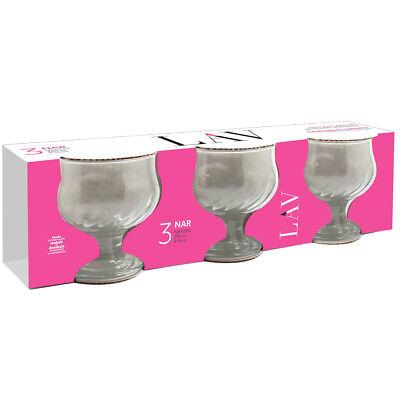 6er Eisbecher Dessertschalen Eisschalen Eisschale Eisgläser Eis Glas Klar NAR38