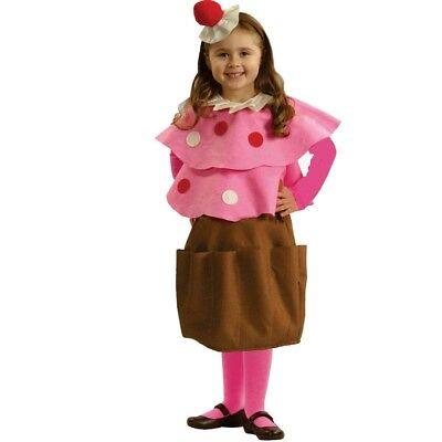 Dress up America Sweet Little Creamy Cupcake Costume And Birthday Gift