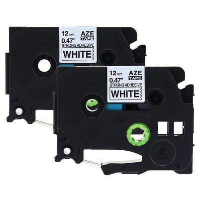 2pk Tze-s231 Compatible Brother P-touch Extra Strength Label Tape Label Maker