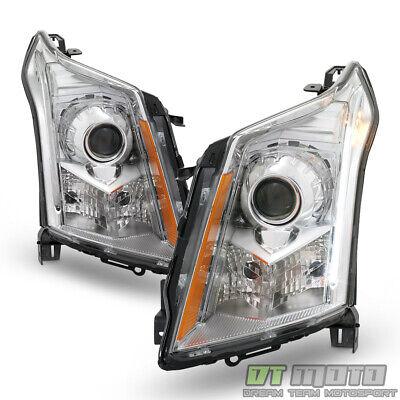 [HID Xenon Model] 2010-2016 Cadillac SRX Headlights Headlamps 10-16 Left+Right
