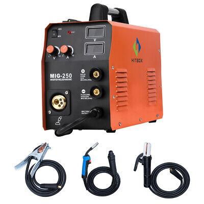 Hitbox Mma Lift Tig Mig Welding Machine Mag Gas Gasless Mig250 Welder With Torch