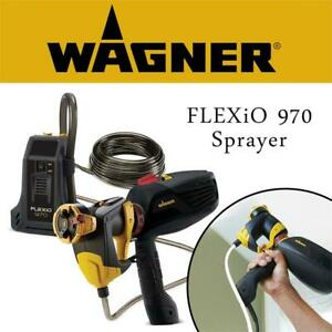 NEW Wagner Spray Tech FLEXiO 970 Sprayer Condtion: New