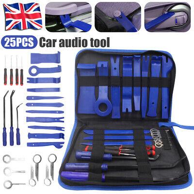 Car Radio Trim Removal Tool Kit Panel Door Pry Dash Interior Clip