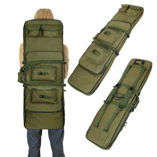 "47"" Tactical Gun Bag Carbine Rifle Range Padded Carry Case S"