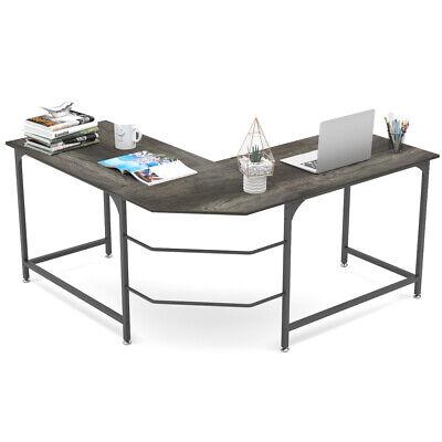 L-shape Computer Desk Gaming Desk Pc Laptop Table Home Office Workstation Study
