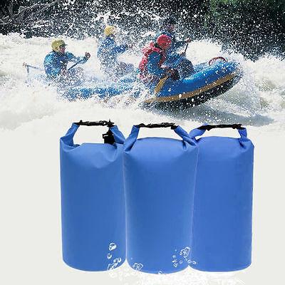 3 Pack Waterproof Dry Bag Sack Backpack for Rafting Boating