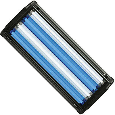 "Used, HO T5 Quad Aquarium Light Fixture 24"" & 4x 24W T5 Bulb 10000K Day & Super Blue for sale  Shipping to Canada"