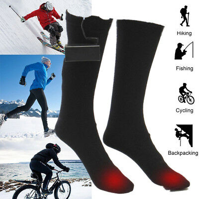 1 Pair Electric Battery Heated Hot Boot Socks Feet Foot Warmer Heater Gift NEW