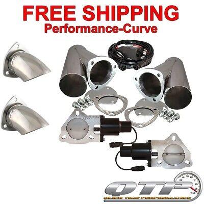 "QTP Quick Time Performance 3"" Electric Exhaust Cutout Kit - QTEC60CPS-K1 for sale  Roanoke"