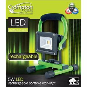 5W Rechargeable Portable LED Spot Work Light for caravan camping Macclesfield Mount Barker Area Preview