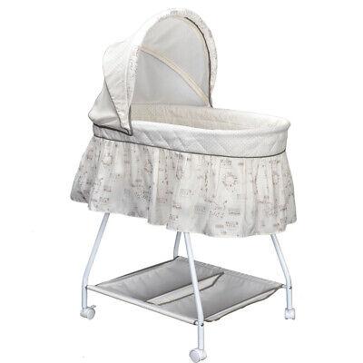 Baby Bollerwagen Weiss Babykorb Bettwäsche Untergestell EU-Produkt Design 6 NEU