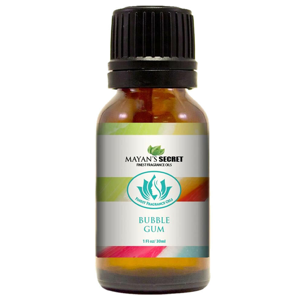 Mayan's Secret- Bubble Gum – Premium Grade Fragrance Oil (30ml) Candle Making & Soap Making