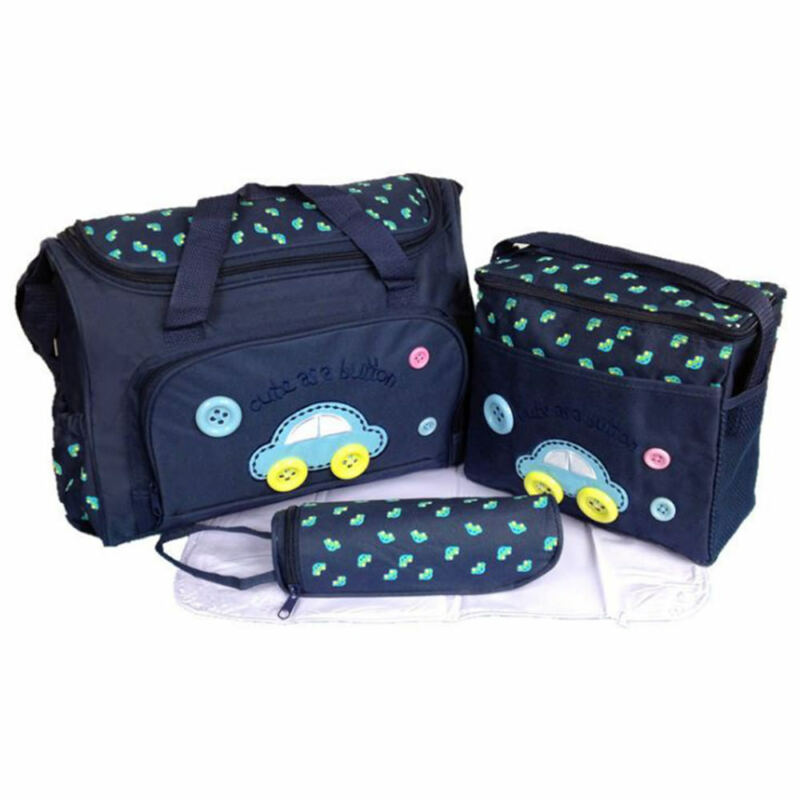 Baby nappy changing bag set 4PCS Brand New Cute diaper bags UK Seller Baby
