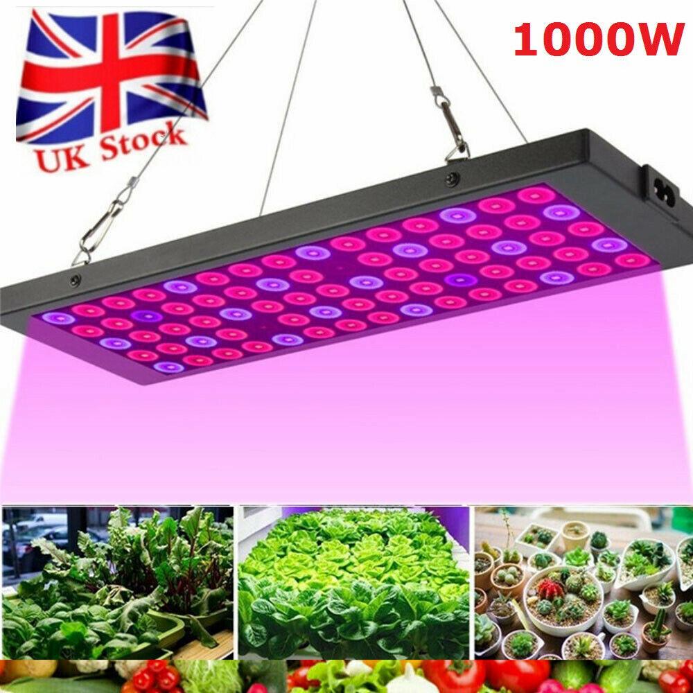 5000W 1000W LED UV Grow Lights Full Spectrum Hydroponic Indoor Flower Plant Lamp