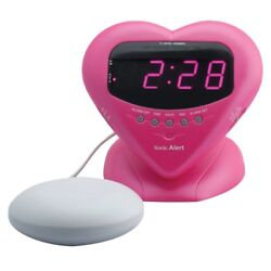Sonic Alert Sweetheart Alarm Clock with Super Shaker (Pink) BH400SSP