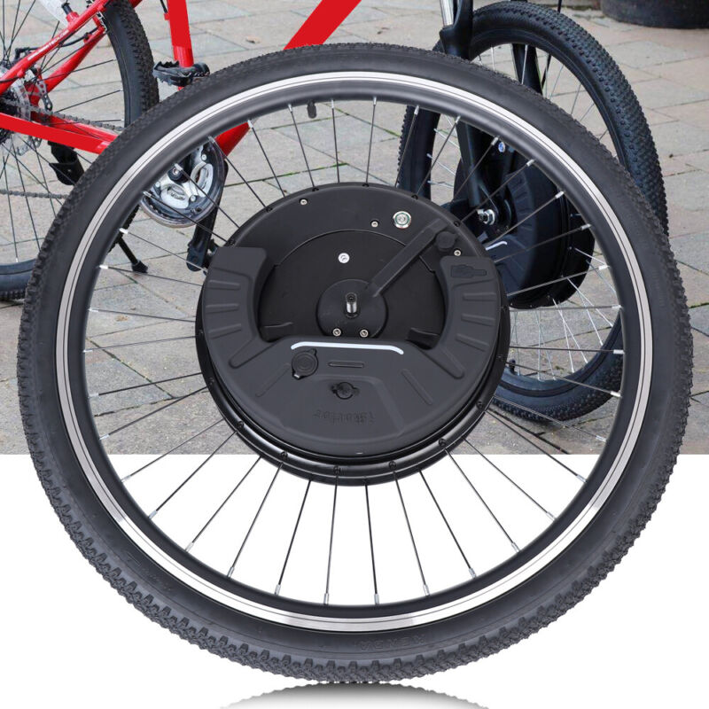 "24""/700C Electric Bicycle Front Wheel 36V 800W Ebike Hub Motor Conversion Kit"