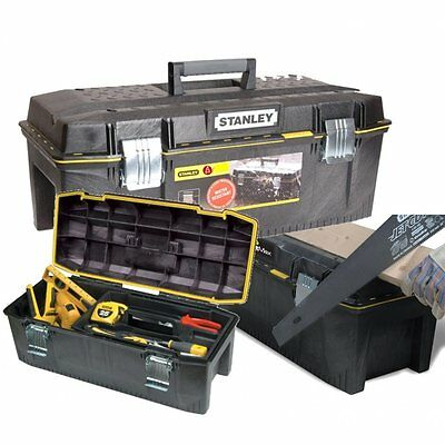 """Stanley 23"""" Waterproof Tool Box Seal Tight Chest & Tray 1-94-749 70 cm 194749"""