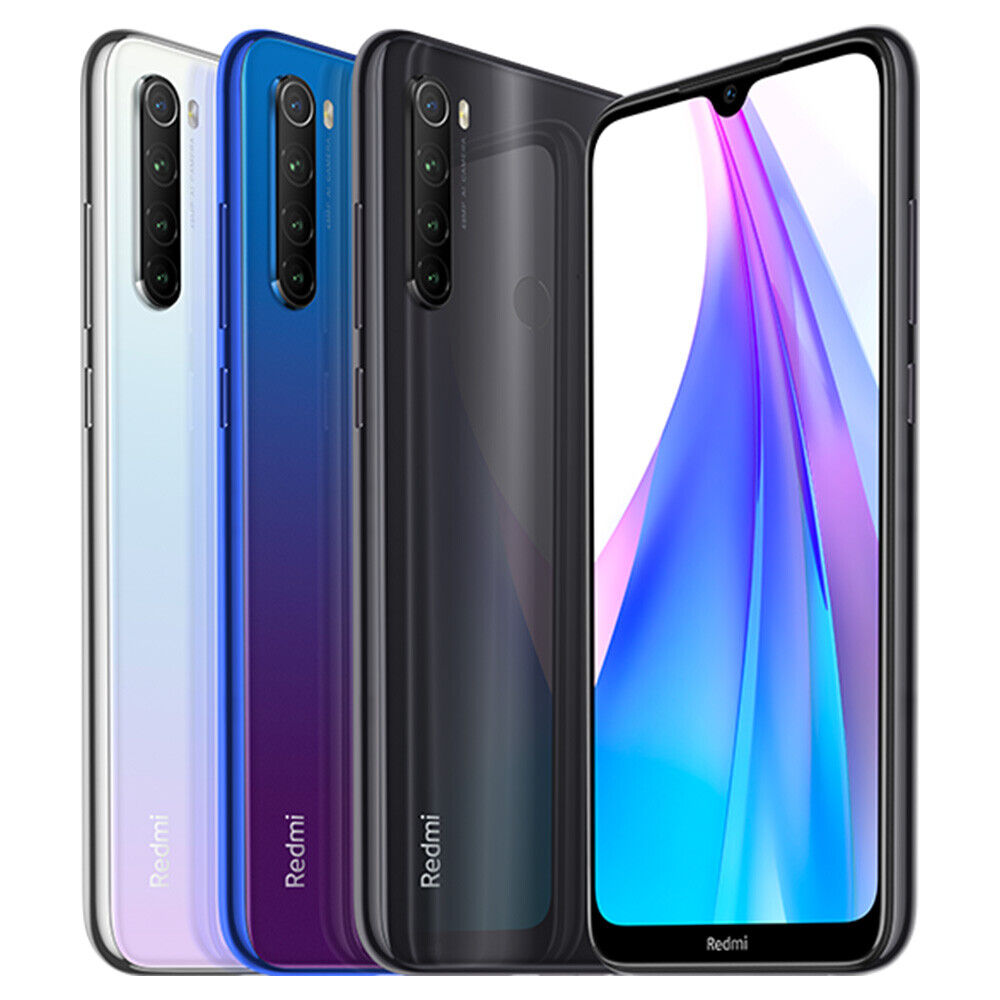"Xiaomi Redmi Note 8T 4+128GB Smartphone Snapdragon 665 6.3"" Quad Camera NFC"