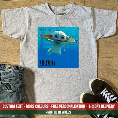 Niryoda T-shirt Funny Nirvana Yoda Baby Swimming Star Swim Gift Wars Me Top