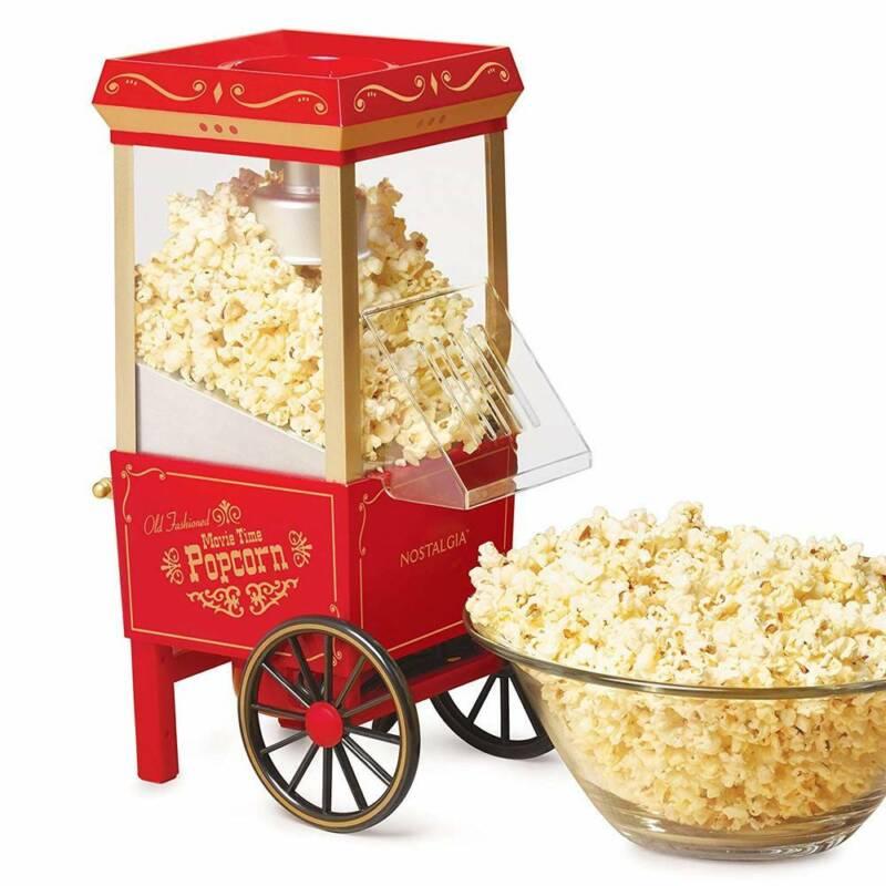 Old Fashioned Mini Electric Popcorn Maker Machine Air Pop Co