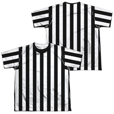 REFEREE SHIRT COSTUME Kids Graphic Tee Shirt SM-XL BOYS GIRLS SZ 6-20 Halloween