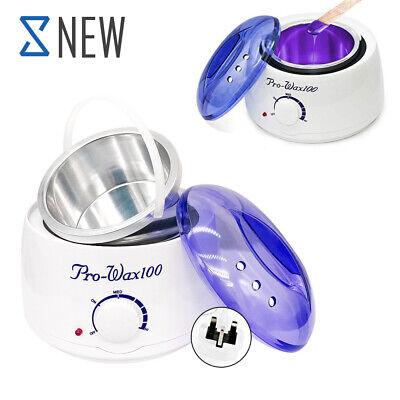 Heater Electric Wax Pot Depilatory Hard Wax Beans Hair Removal Machine Warmer UK