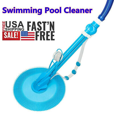 Swimming Pool Cleaner Vacuum Hose Set Inground Above Ground Automatic Cleaner