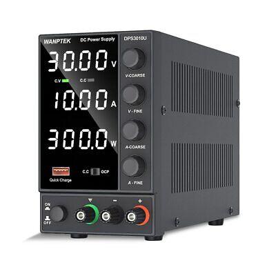 Power Supply Adjustable Dc 30v 10a Led Digital Lab Bench Power Source Stabilized