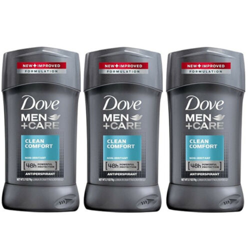 Dove Men+Care Antiperspirant & Deodorant, Clean Comfort 2.7