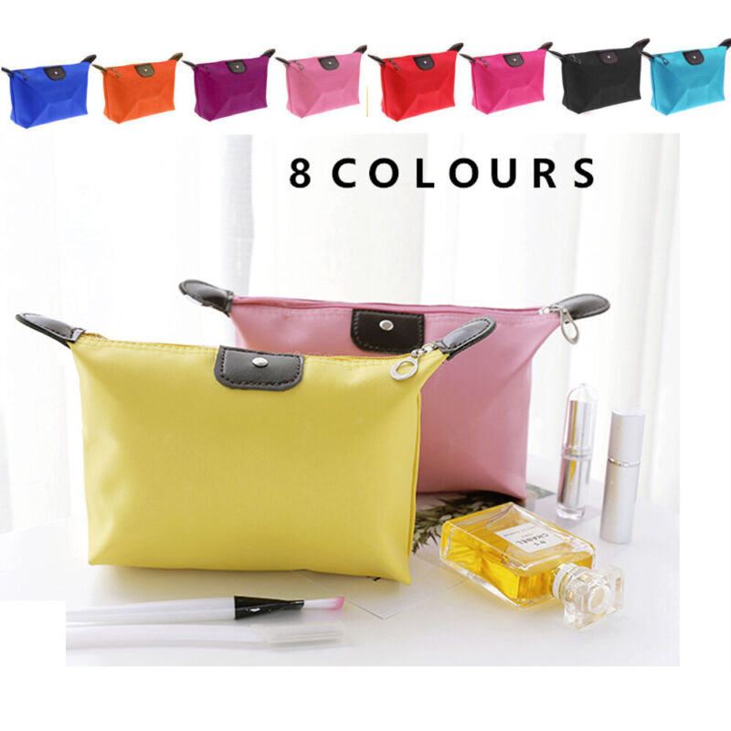 Women's Ladies Small Cosmetic Make Up Bag Portable Travel Pouch Zip Organizer Health & Beauty