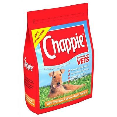 Chappie Complete Dog Food - Chicken & Cereal - Dry - 3Kg