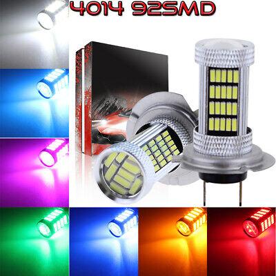 NEW 2Pcs 4014 92SMD LED Bulbs Conversion Kit Fog Lights High Power Super