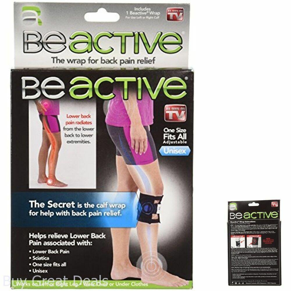 Pressure Point Wrap Sciatica Knee Leg Brace Acupressure ...