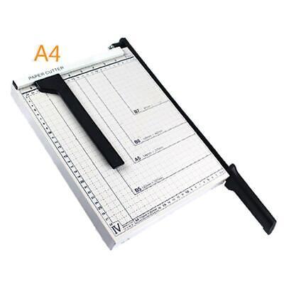 12 Sheet Professional Guillotine Paper Cutter A4 Paper Trimmer Office Equipment