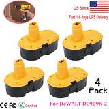 4 X 18 Volt Battery Pack For DeWALT DC9096-2 18V XRP Extended Capacity Battery