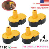 4 X 18 Volt Battery Pack For DeWALT DC9096-2 18V XRP Extended Capacity Battery