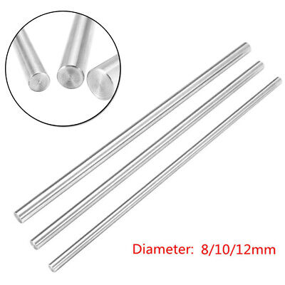 1 Piece 81012mm Cnc For 3d Printer Axis Smooth Rod Steel Linear Rail Shaft