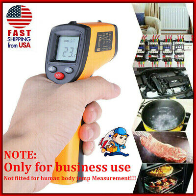 Non Contact Laser Point Digital Infrared Thermometer Lcd Ir Temperature Gun