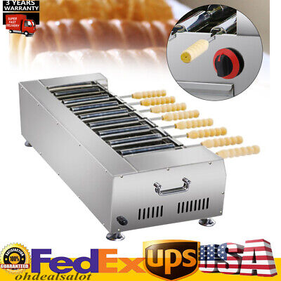 Commercial Lpg Gas Cake Oven Roll Grill Machine Bread Rolling Maker Hotsale