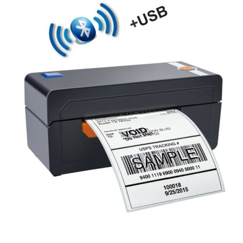 BEEPRT 4x6 High Speed Thermal Shipping Label Barcode Printer USB and Bluetooth
