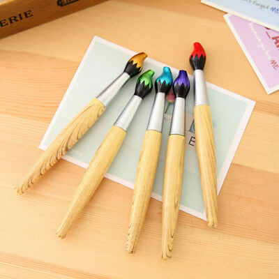 Stationery For Kids (Novelty Wooden Ballpoint Pen Stationery For Kids Students Homework Writing)