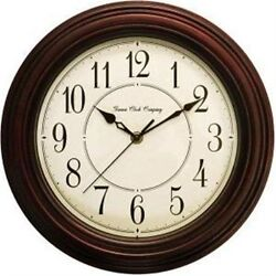 10028838 Geneva Clock Company 12 Silent Sweep Movement Analog Quartz Wall Clock