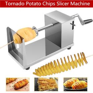 Tornado Vegetable Fruit Potato Slicer Machine Spiral Potato Chips Cutter Twister