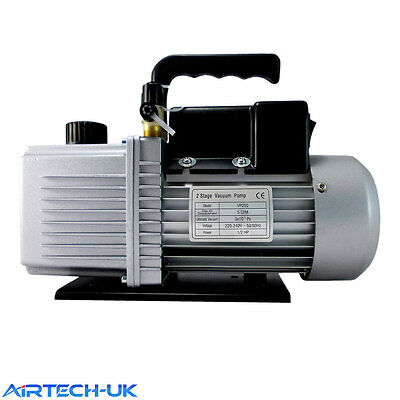Vacuum Pump Air Conditioning Refrigeration 4.5CFM 1/2HP two Stage