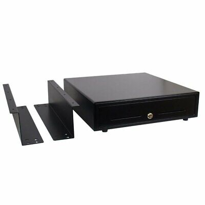 Under Counter 16-inch Pos Cash Drawer With Mounting Bracket Bill And Coin Trays
