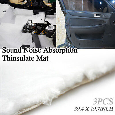 Noise Protection Audio Sound Absorption Thinsulate Mat 39x20