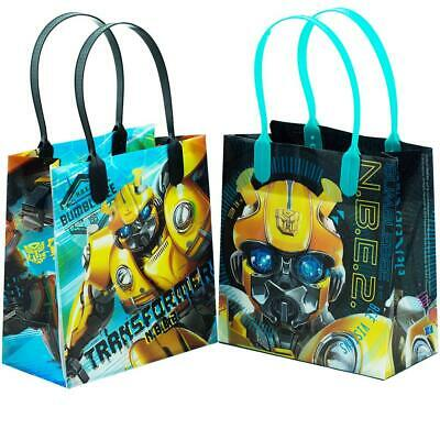 "12PCS- 6"" Transformers Bumblebee Party Favor Goodie Gift Bir"